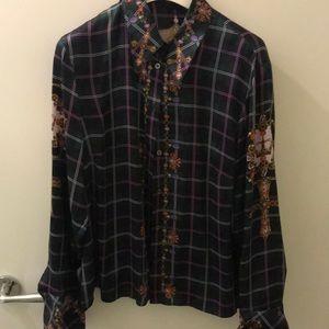 Multicolored dress shirt